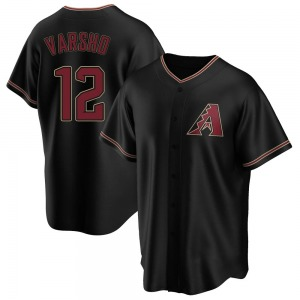 Youth Arizona Diamondbacks Daulton Varsho Black Alternate Jersey - Replica